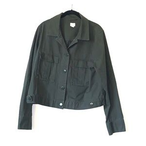 Army green jacket by a.n.deaway for Target EUC